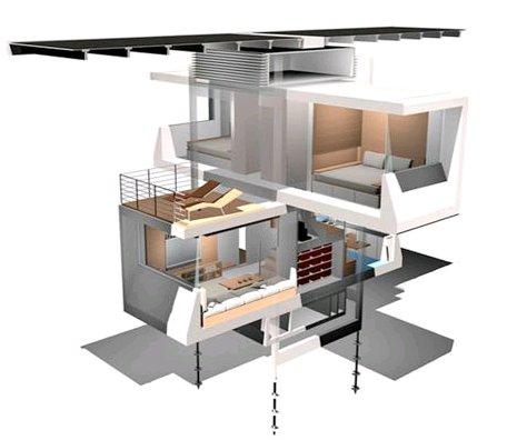 lakás, luxus, kényelem