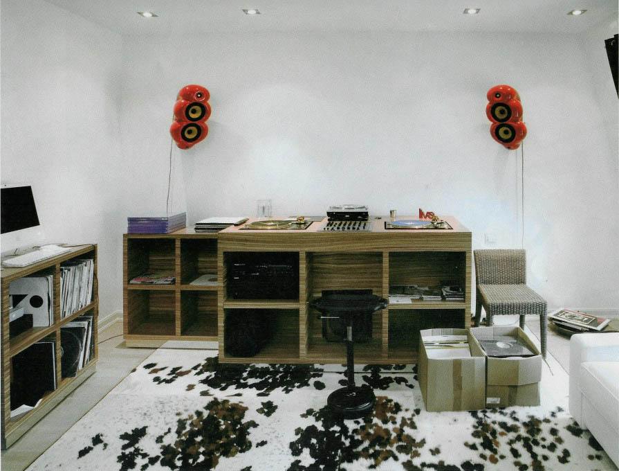 Sven Vath játszószobája