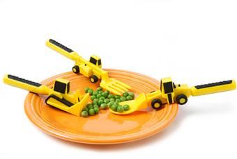 Építő Étkészlet Constructive Eating Utensils Set