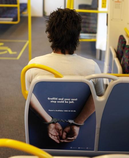 Anti Graffiti Advertising - Reklám a graffiti ellen