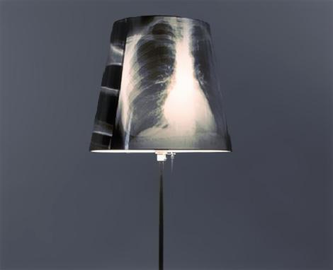 X-ray Lamp, Lámpát röntgenfelvételből