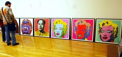 Andy Warhol, Monroe és Mao szitanyomatai Szegeden