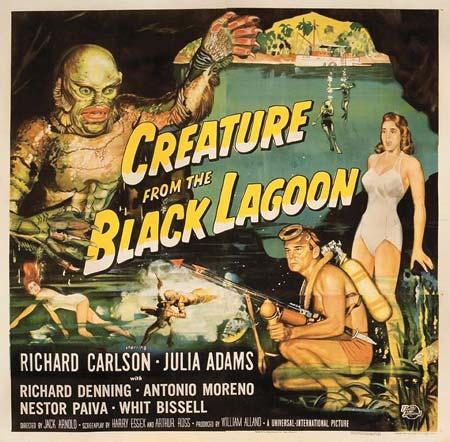 Teremtmény a fekete lagúnából