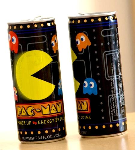 Pac-Man Energy Drink