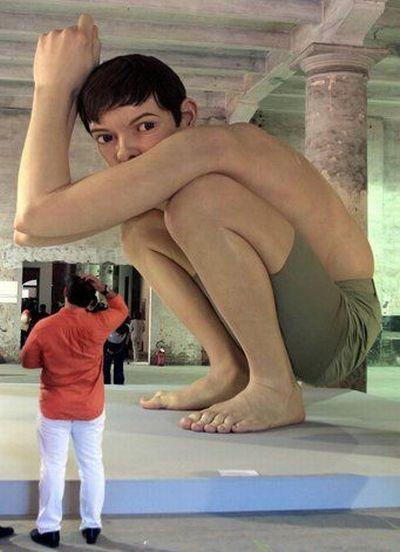 nem mindennapi szobrok
