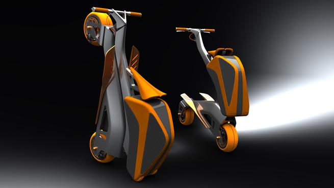 egyedi bicikli design