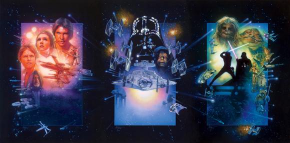 Star Wars Trilogy poster