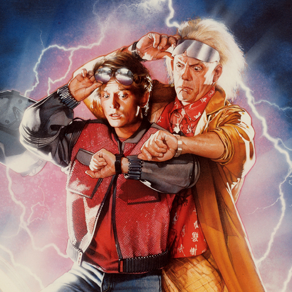 Vissza a jövőbe sorozat poszter