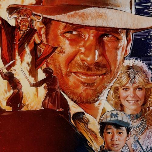 Indiana Jones és a Végzet temploma plakát