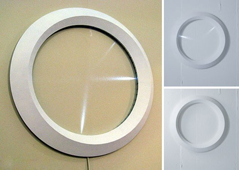 Telihold óra LED mutatókkal