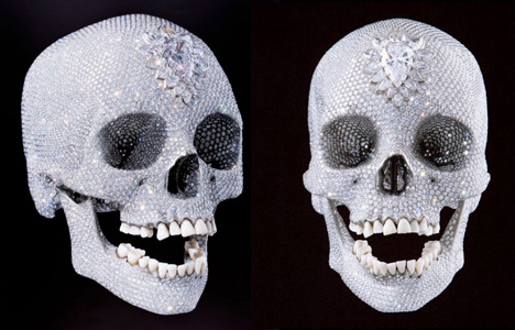 Damien Hirst's skull - For The Love of God