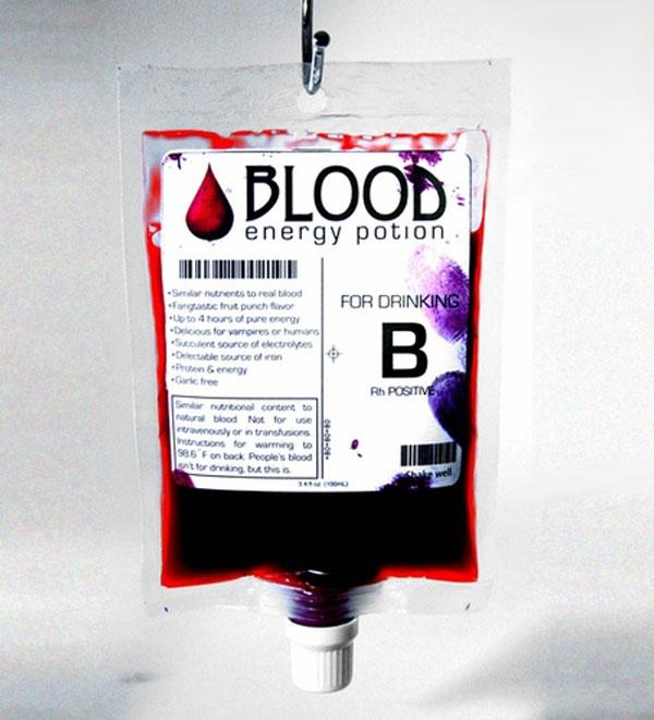 energiaital design vér vámpíroknak