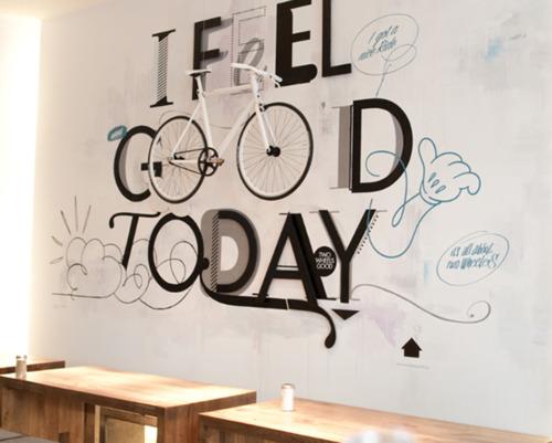 művészi bringatárolás - i feel good today