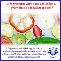 Magas a fagyasztott zöldség tápanyagtartalma