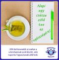 Csökkenti a szívroham kockázatát a zöld tea!