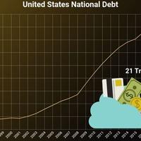 Ez nem semmi! Csúcson az amerikai államadósság: 21 Trillió!! Dollár jelenleg