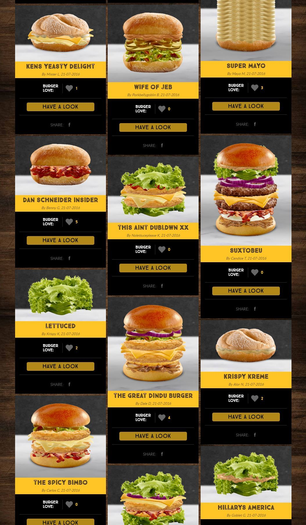 McDonald's let the internet design burgers. Bad Idea. | Funny ...