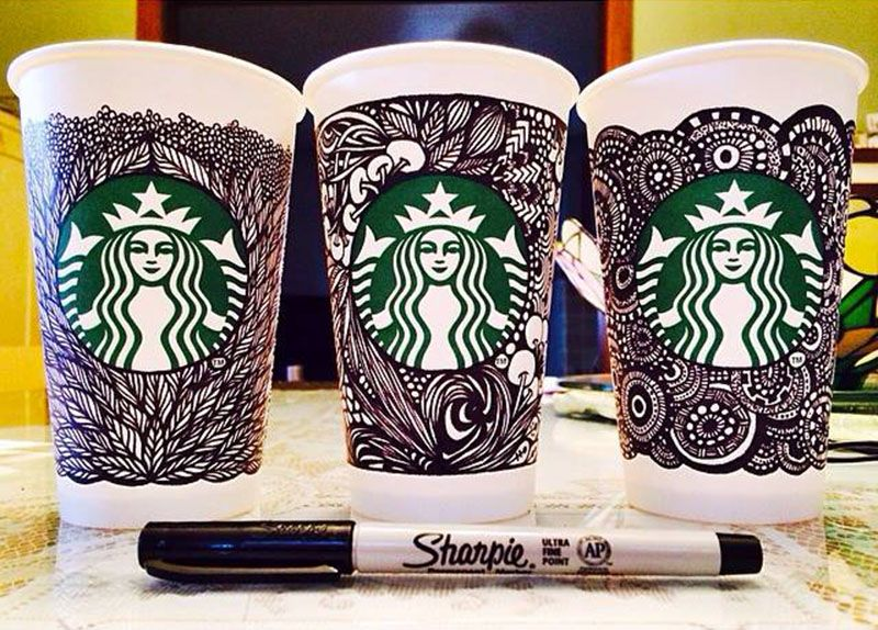 Starbucks Unveils The White Cup Contest Winning Design (and a look ...