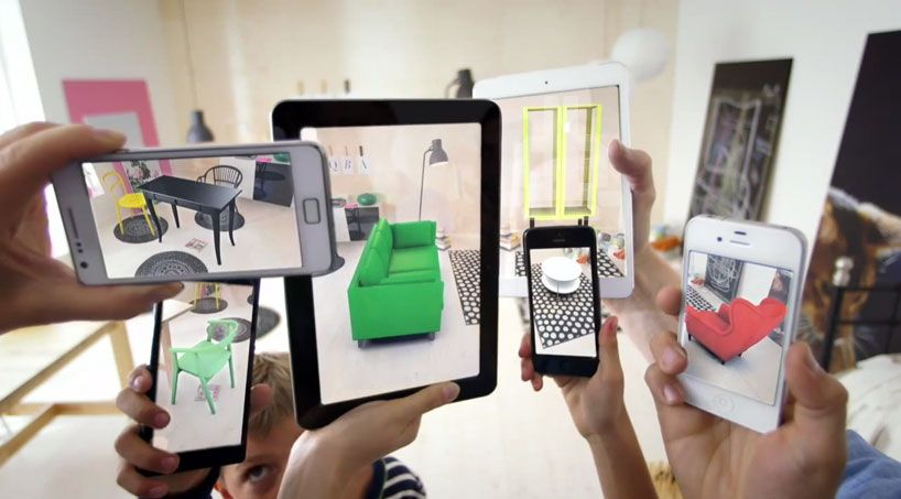 place IKEA furniture in your home with augmented reality app ...