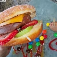 Hamburger desszert