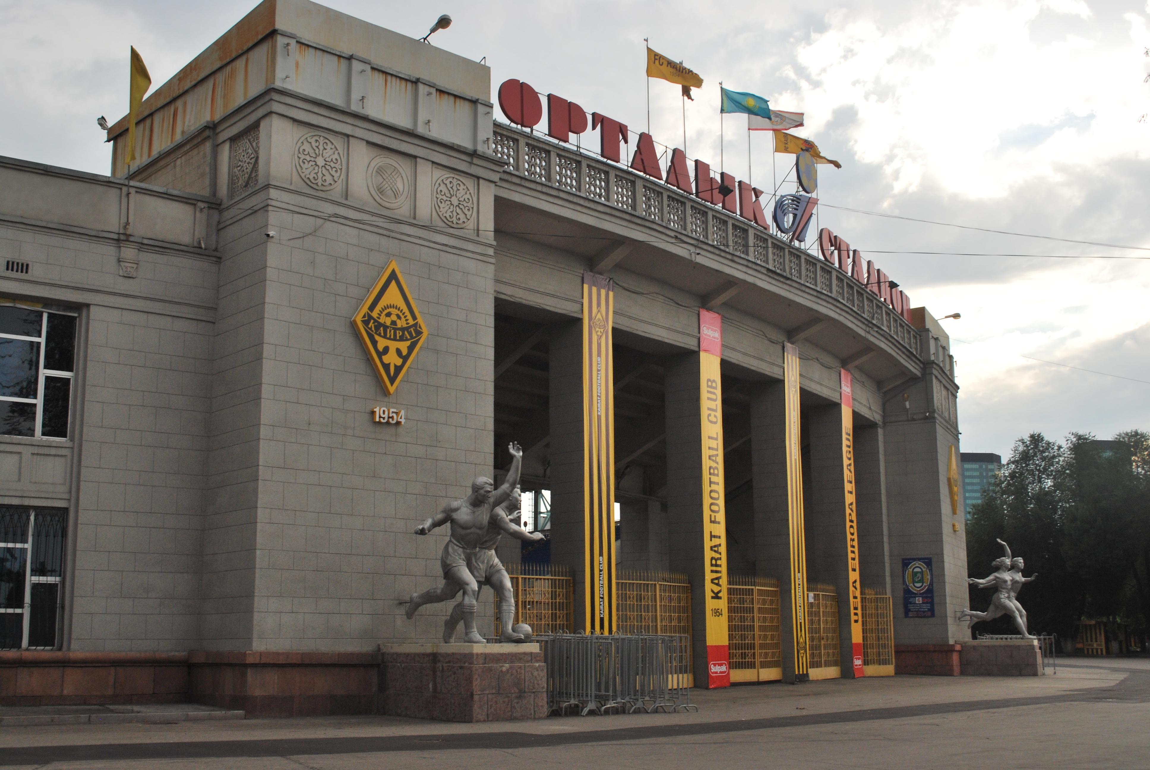 Almati focicsapatában, a Kajrat Almatiban Elek Ákos személyében magyar is játszik