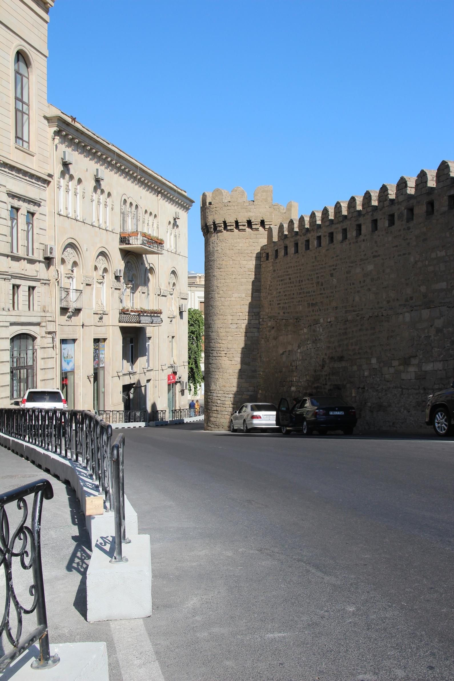 A nyolcas kanyar az azeri nagydíjon.