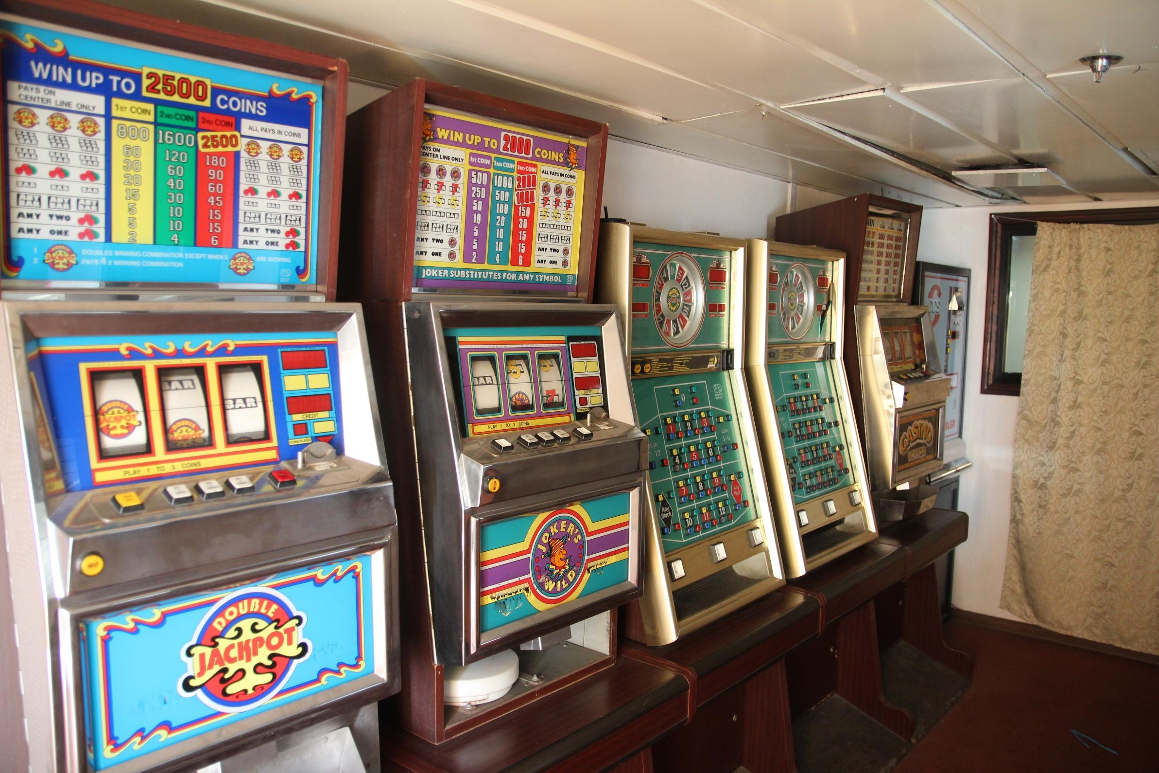 Nem működtek, nem is tudjuk, miért voltak a hajón nyerőautomaták.