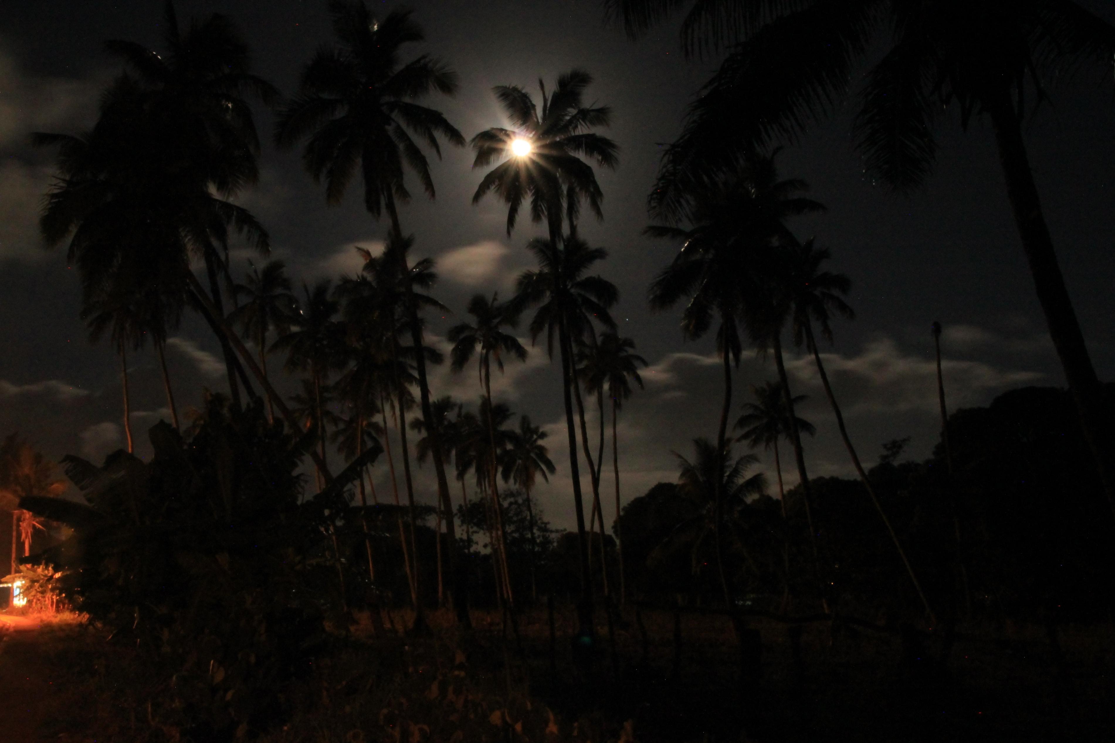 Éjszakai kilátás a szállásomról