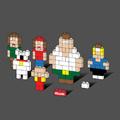 Griffin család Legoból, pólón.