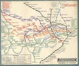 london tube map history