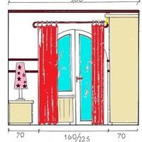 Szinglikuckó hálószobája falnézeteken