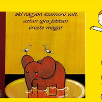 Monika Weitze: Mese a rózsaszín elefántról, aki nagyon szomorú volt, aztán újra jobban érezte magát