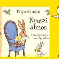 Julia Donaldson: Nyuszi álmos