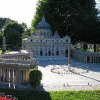 Szent Péter tér és a bazilika