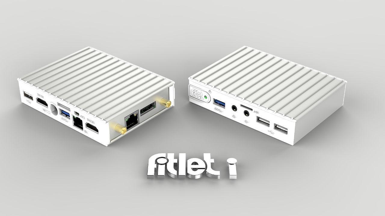Fitlet i - dual monitoros és általános rendszerekhez
