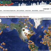 Vitázott a Mikulás útján a Google és a NORAD