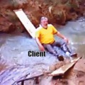 Developer, tester, client