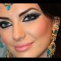 Exotic Arab Makeup Arabic Bridal Smokey Eyes المكياج العربي