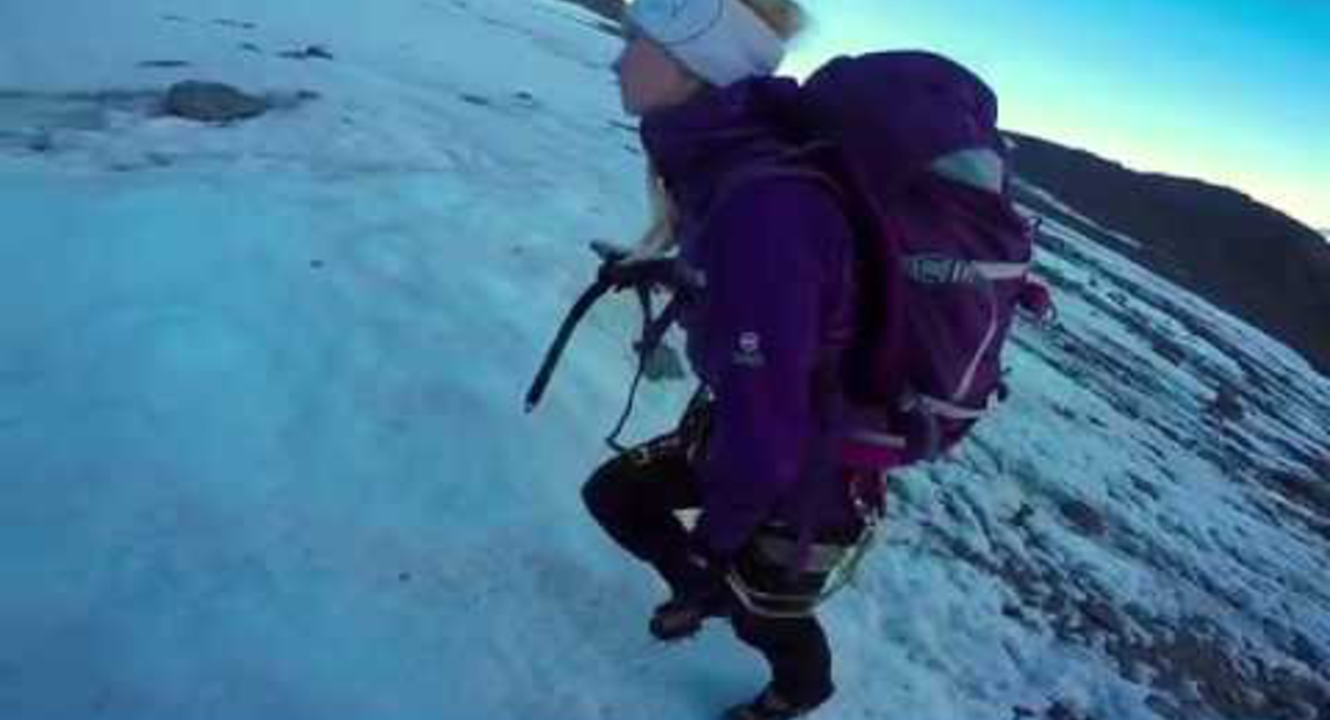 A Vadcsúcs meghódítása - Wildspitze, 3770 m