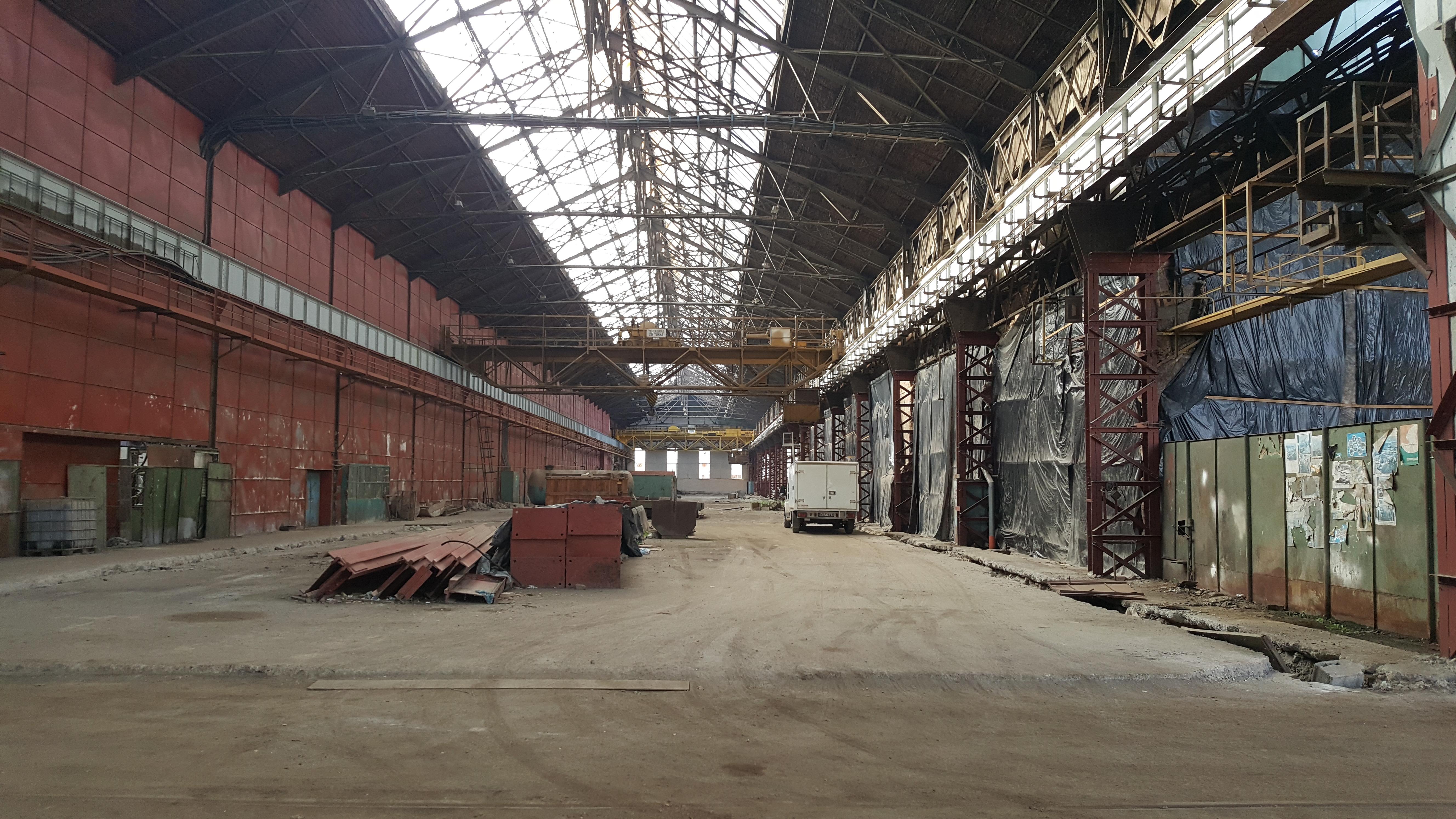Ahol gyár állott, most kőhalom