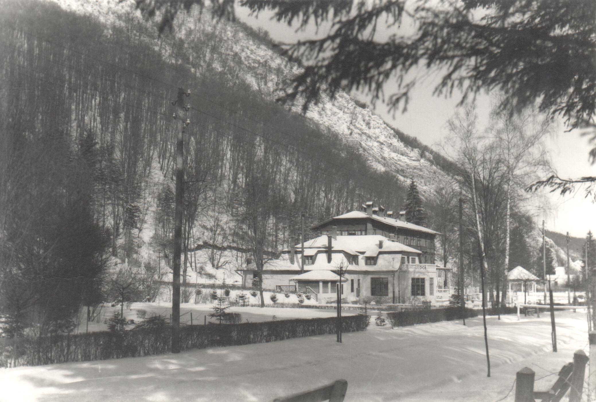 A Lilla Szálló 1936 körül
