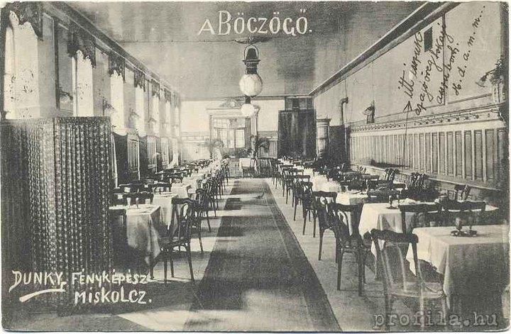 A Böczögő egy korabeli képeslapon.