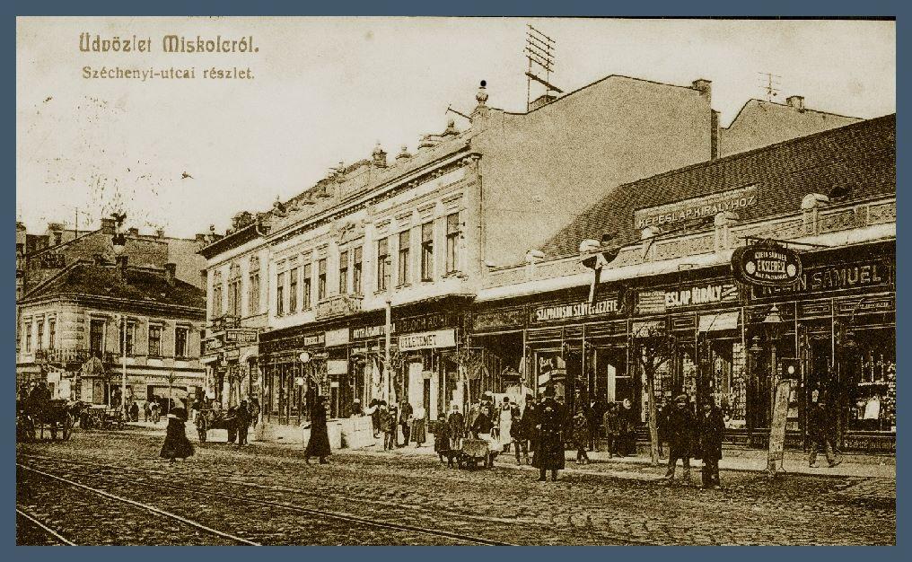 1910 körül. A kép forrása Miskolc a múltban facebook csoport