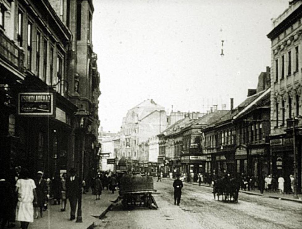 Így nézett ki Miskolc 1921-ben