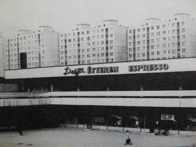 A Diófa étterem jellegzetes feliratával