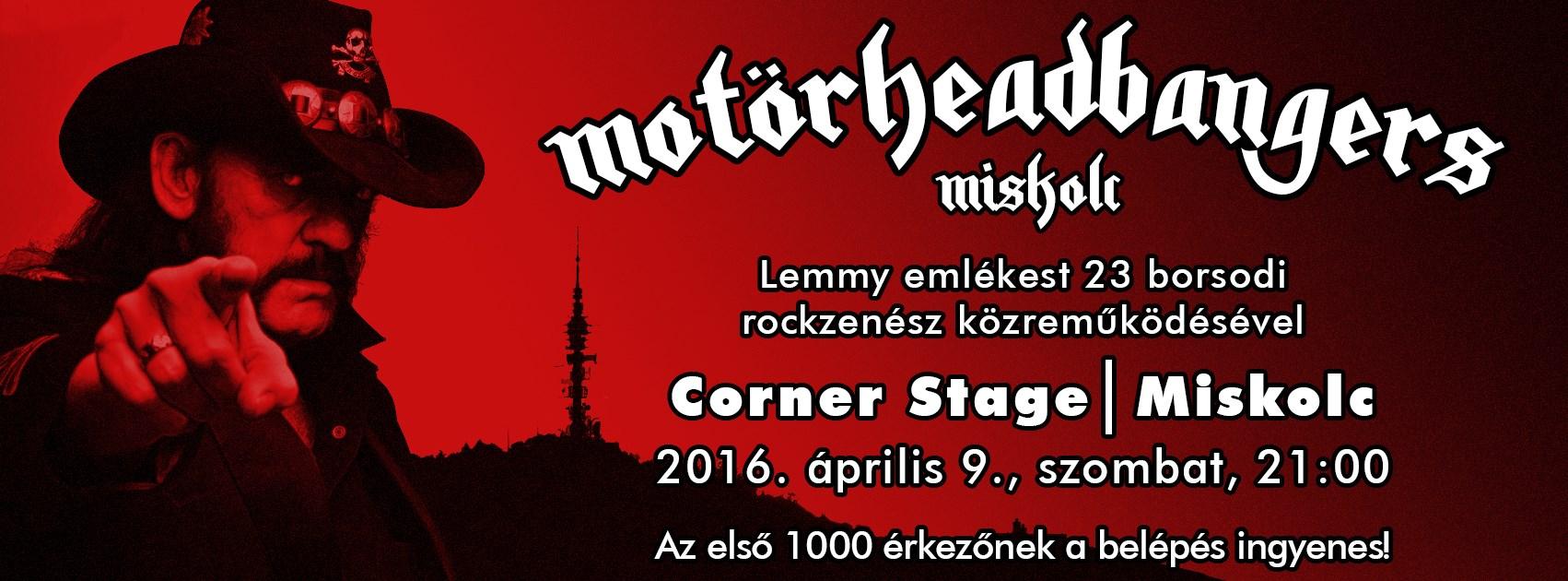 """""""Metál az ész!"""" - Motörhead-est Miskolcon"""