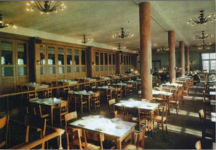 Az étterem belülről