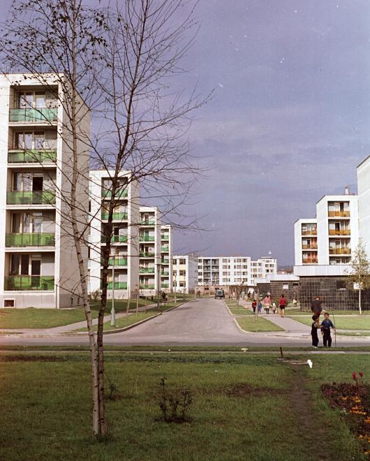 1963 Kilián-dél, Iván utca a Benedek Elek utca felől nézve