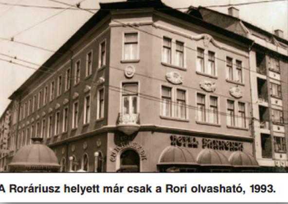 A Roráriusz vagy röviden Rori cukrászda épülete