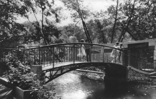 A Sziget Presszóra vezető híd